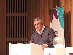 Claudio Tapia at the 2018 Summer Youth Olympics Futsal Draw (44200169462).jpg