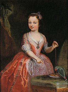 Clementi - Maria Luisa of Savoy as a child, Stupinigi.jpg