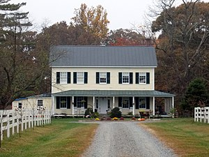 National Register of Historic Places listings in King George County, Virginia - Image: Cleydael Oct 12
