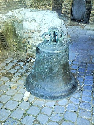 Tour du Guet - Bell at the Tour du Guet, Calais.