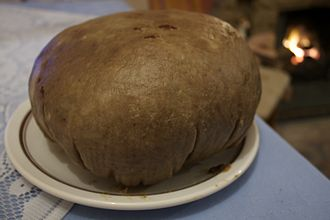 Christmas in Scotland - Clootie dumpling