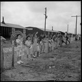 Closing of the Jerome Relocation Center, Denson, Arkansas. Evacuees still remaining in the Jerome C . . . - NARA - 539658.tif