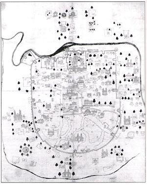 Cloth map of ahmedabad
