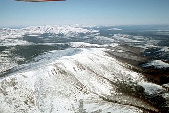 Innoko National Wildlife Refuge - Image: Cloudy Mountains Innoko NWR
