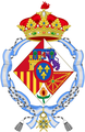 Coat of arms of Infanta Pilar, Duchess of Badajoz.png