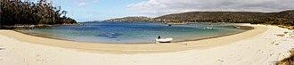 Cockle Creek (Tasmania) - The beach at Cockle Creek