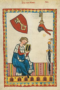 Codex Manesse 066v Der von Gliers