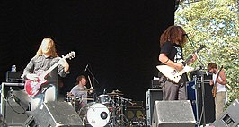 Coheed and Cambria in Central Park, New York, 2005