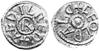 Æthelred I of Northumbria - Coin of Æthelred