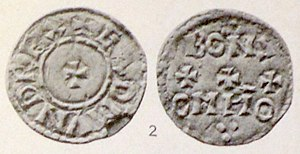 Edmund I - Coin of King Edmund