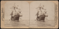 "Columbus' flagship ""Santa Maria,"" Columbus Naval parade, New York Harbor, U.S.A, from Robert N. Dennis collection of stereoscopic views 5.png"