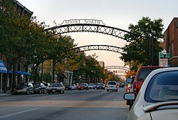 The trademark arches of the Short North