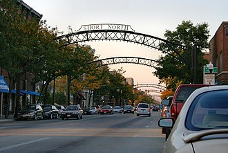 The Short North - The trademark arches of the Short North