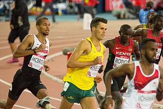 Jeff Riseley Australian middle-distance runner