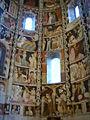 Como, basilica di sant'abbondio, cortile, interno, affreschi 04.JPG