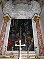 Compagnia del ss. sacramento, calenzano, int., incoronazione di spine del passignano.JPG