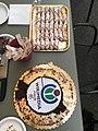 Compleanno Wikimedia Italia 2021 torta e cannoli.jpg