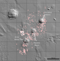 Complete map of 1,000+ cave-entrances on Mars.png