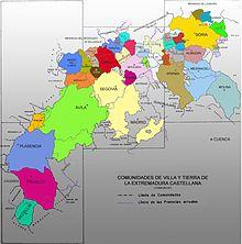 Durante il Medioevo la Comunidad de villa y tierra de Segovia si estese oltre il Sistema Central