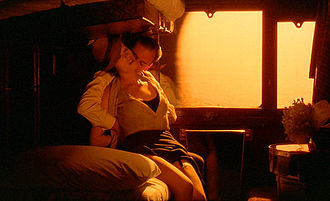 The Conformist (1970 film) - Marcello seduces Giulia during their train ride to Paris.