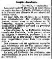 Congrès d'étudiants - La Justice - 5 septembre 1906 - page 1, 1ère colonne.jpg