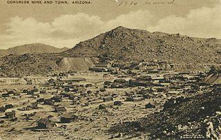 Congress, Arizona CDP in Arizona, United States