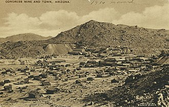 Congress, Arizona - Image: Congress Arizona Circa 1914