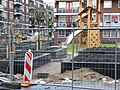 Construction of new playground - city garden in Amsterdam-West -2013.jpg