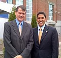 Consul General Smith and USAID Administrator Dr. Rajiv Shah.jpg