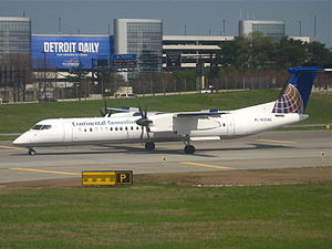 Colgan Air Flight 3407 - A Dash-8 Q400 similar to the aircraft involved