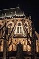 Contreforts de la cathédrale Saint-Etienne de Bourges - vue de nuit.jpg