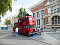 Converted Double Decker Bus in Exhibition Road South Kensington - geograph.org.uk - 3077797.jpg