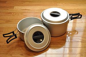 Cooker - An aluminum cooker