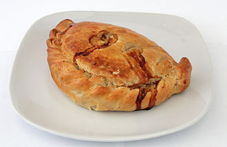 Cornish people - A  Cornish pasty