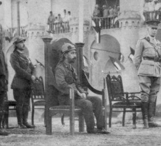 Faisal I of Iraq - Coronation of Prince Faisal as King of Iraq