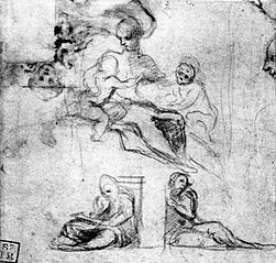 Study for Madonna with child