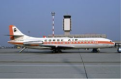 Sud Aviation Caravelle der Corse Air