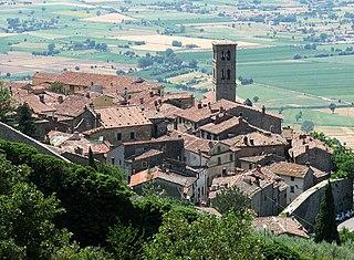 Cortona Comune in Tuscany, Italy
