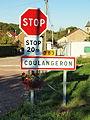 Coulangeron-FR-89-panneau d'agglomération-1.jpg