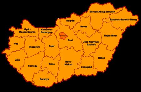 Departementoj de Hungario 2006.png