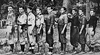 Chatham, Virginia - The Countyseat Giants, Chatham's baseball team, 1912