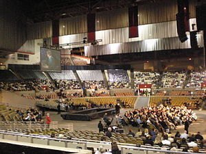Cow Palace - Cow Palace interior (set up for an event in 2009)
