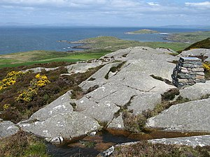 Gigha - Creag Bhàn, the highest hill on the island