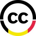 Creative Commons Belgium logo small - black-yellow-red.png