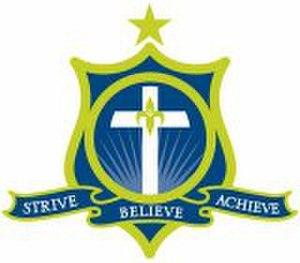 Education in Tasmania - Image: Crest of St Aloysius Catholic College, Tasmania 11kb