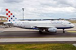Croatia Airlines, 9A-CTG, Airbus A319-112 (33695466141).jpg