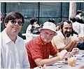 Cromemco company picnic, Roger Melen, Nik Ivancic, Boris Krtolica (1986).jpg