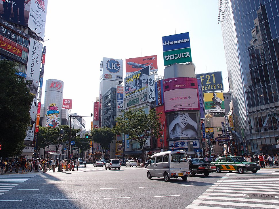 Crossing @ Shibuya 2013 (9238103262)