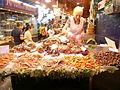 Crustaceans for sale at the Mercat de la Boqueria in Barcelona.JPG
