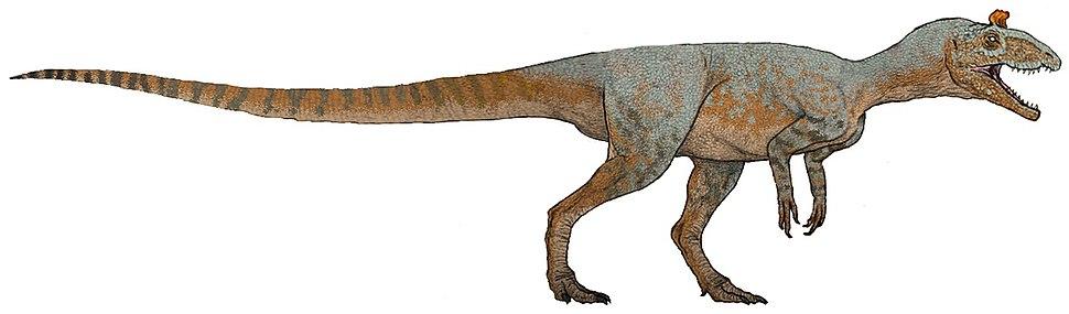 Cryolophosaurus reconstruction (flipped)